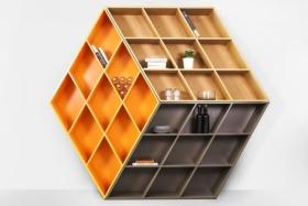 rubika b601 twist on the modern bookshelf