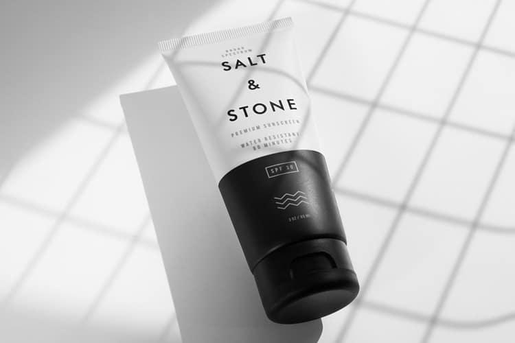 salt stone skin care product