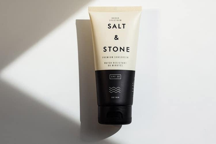salt stone skin care lotion