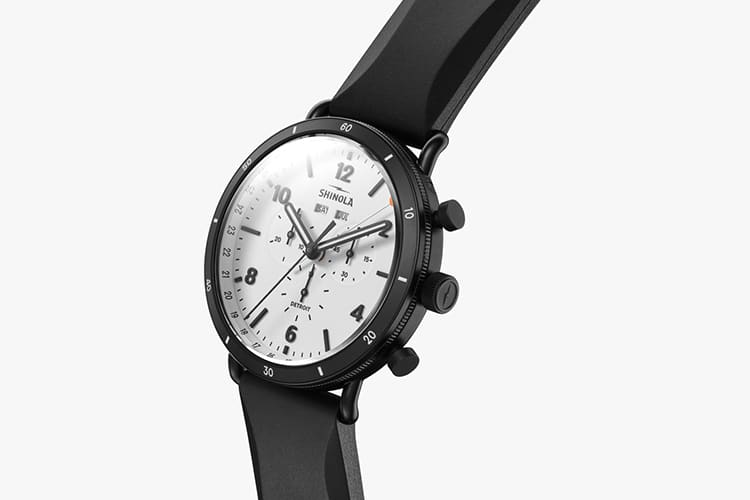 shinola watch black color