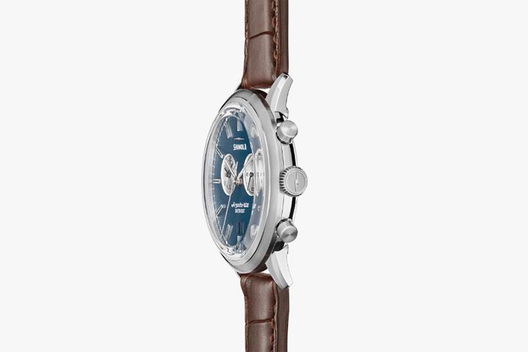 shinola special edition watch crown