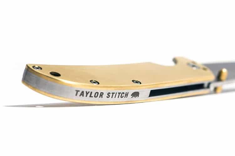 taylor stitch brass pocket knife