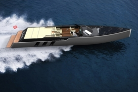 tesla e vision gt concept boat launched