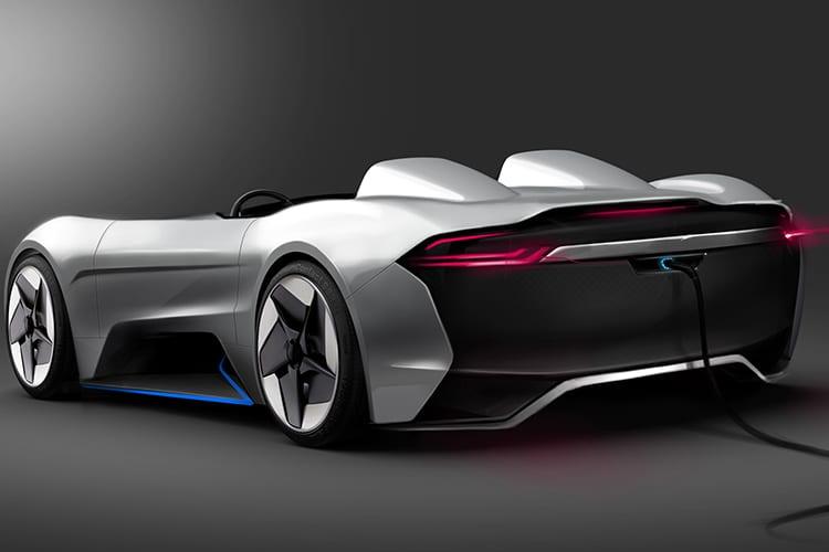 tesla roadster y car charging