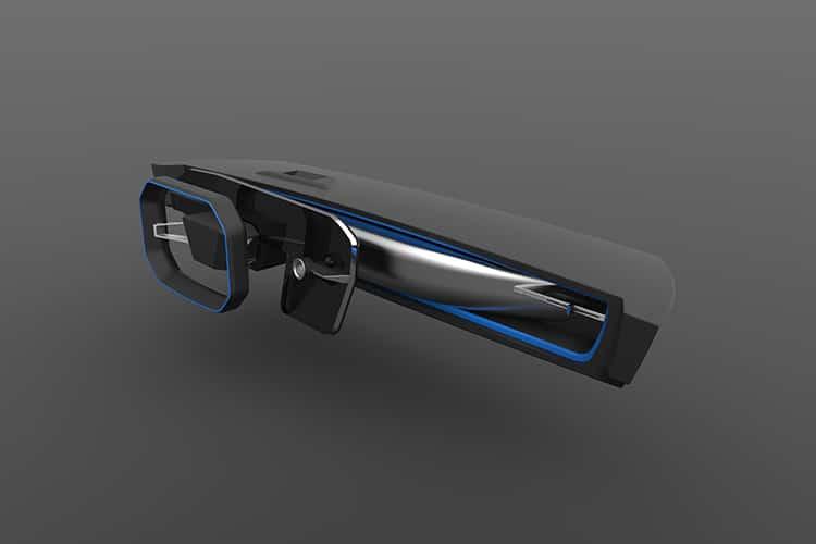 door handle of tesla roadster y car