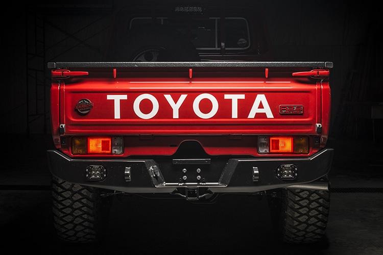 toyota custom 79 land cruiser pickup trunk