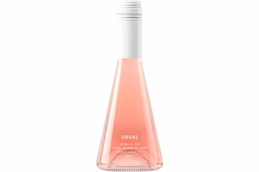 usual rose bottle drink
