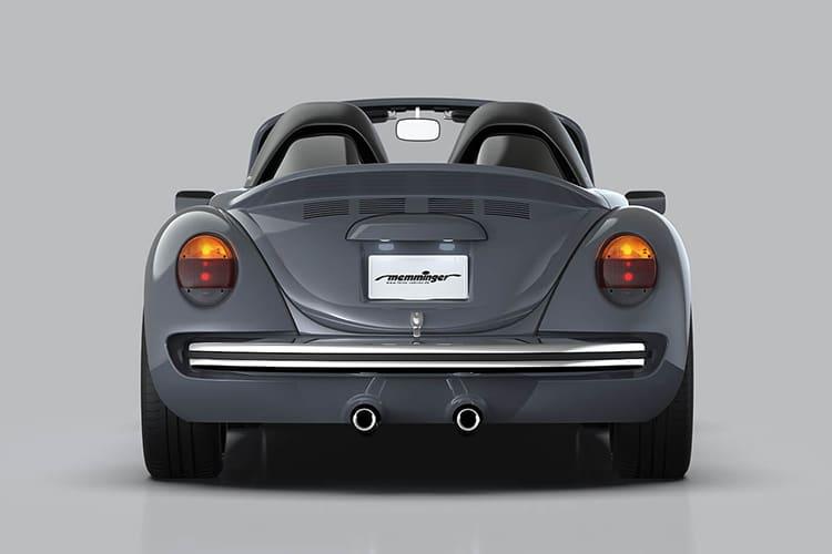 vw beetle roadster 2.8 back side