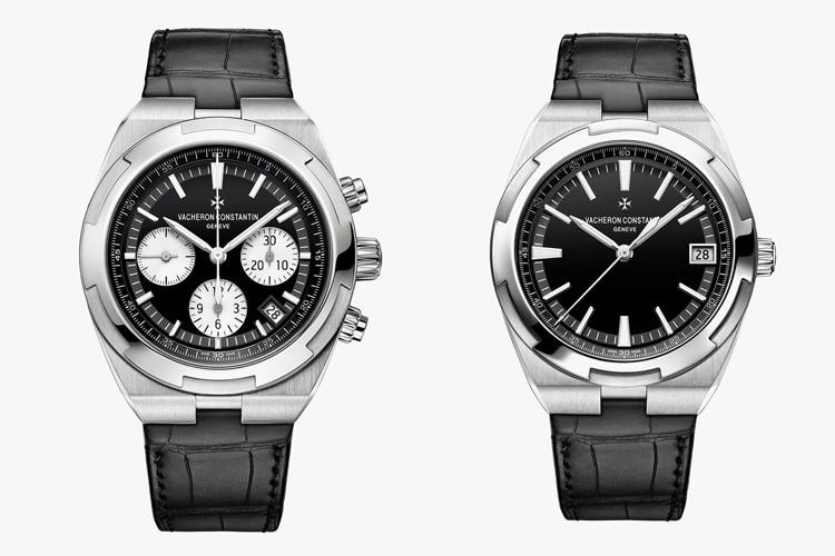 vacheron constantin overseas black dial collection