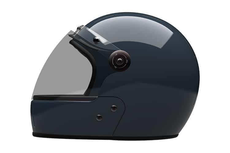 Veldt Modular Helmet in Navy Side view