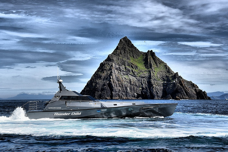 safehaven marine xsv 17 thunder child released