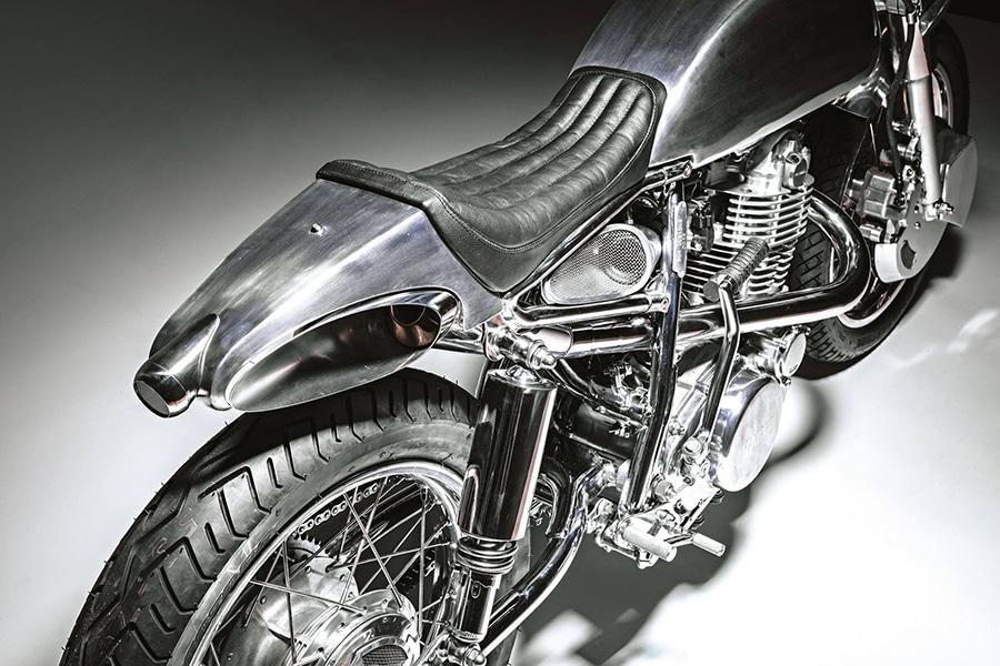yamaha sr400 motorcycle seat