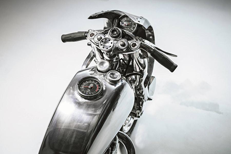 yamaha sr400 motorcycle handlebar