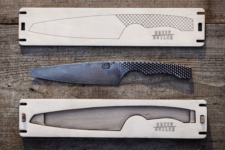 Re Purposed File Knives From Creek Cutler Are Made From