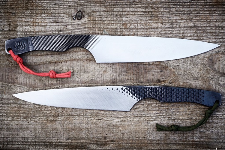 creek cutler two different knife