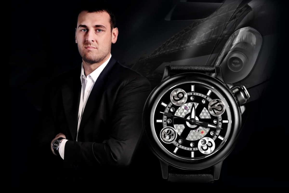 bausele created limited edition andrew bogut timepiece