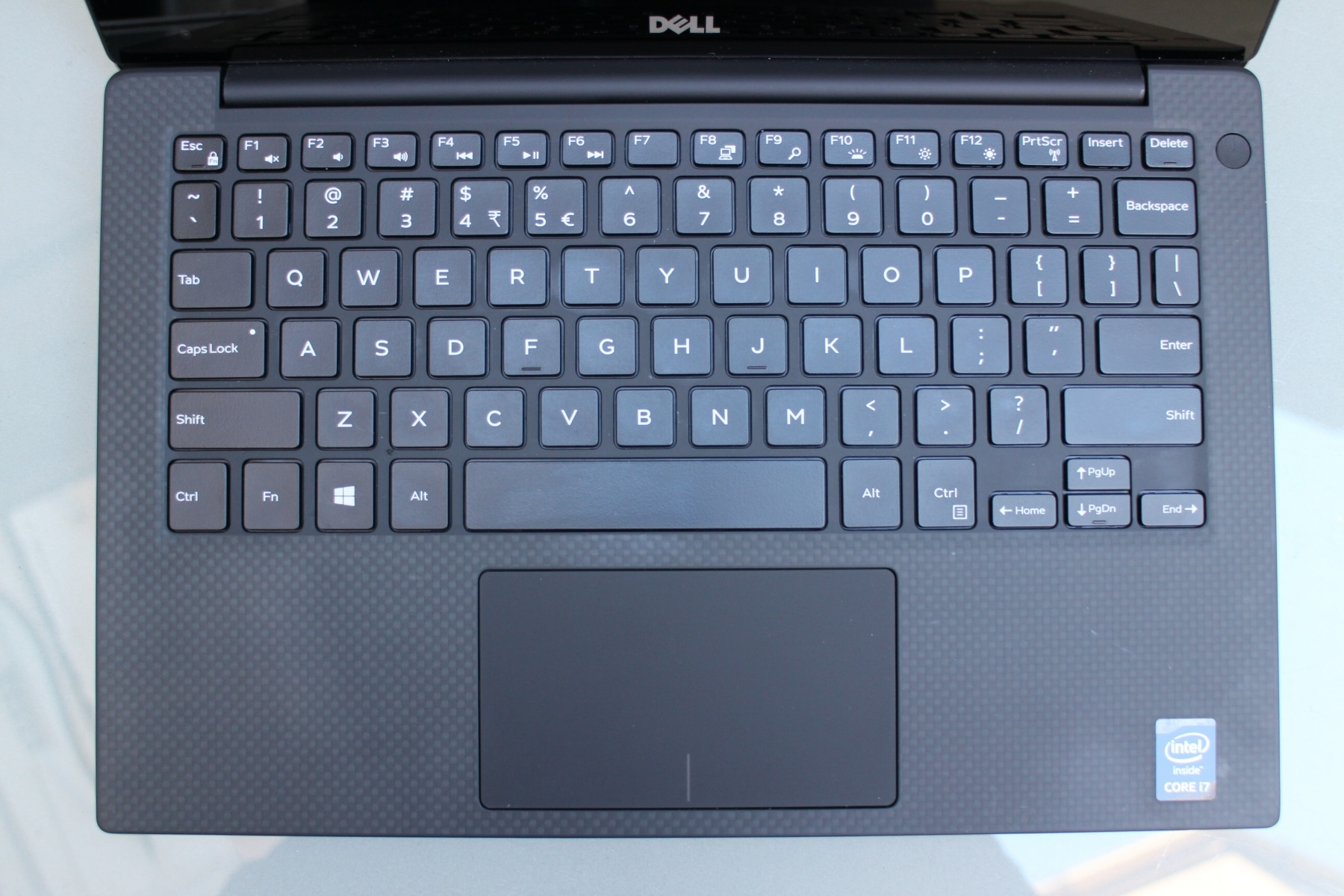 dell xps keyboard and touch pad