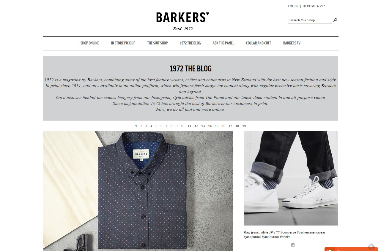 Men s fashion style culture The Barkers blog Barkers