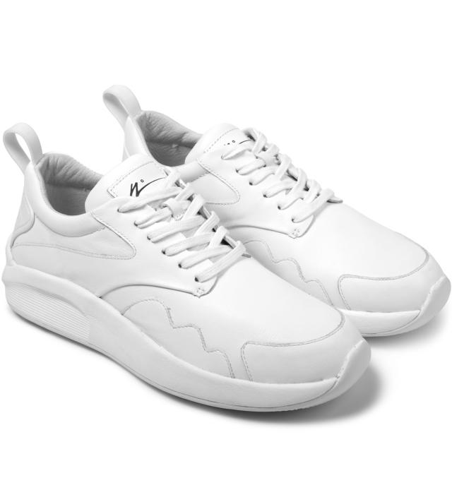 article number 0502 0234 white leather white sneakers