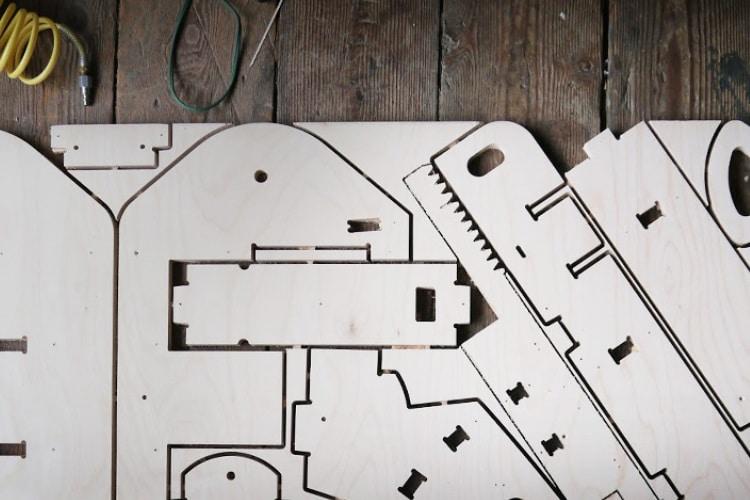 plyfly wooden go kart architecture