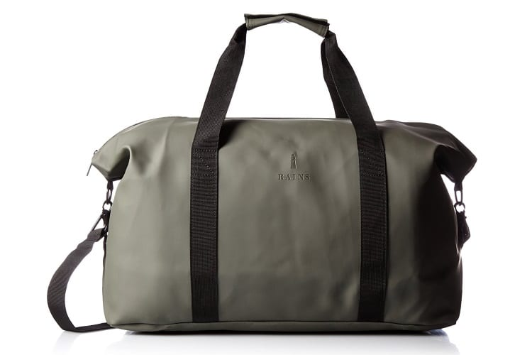 rains men's duffel bag