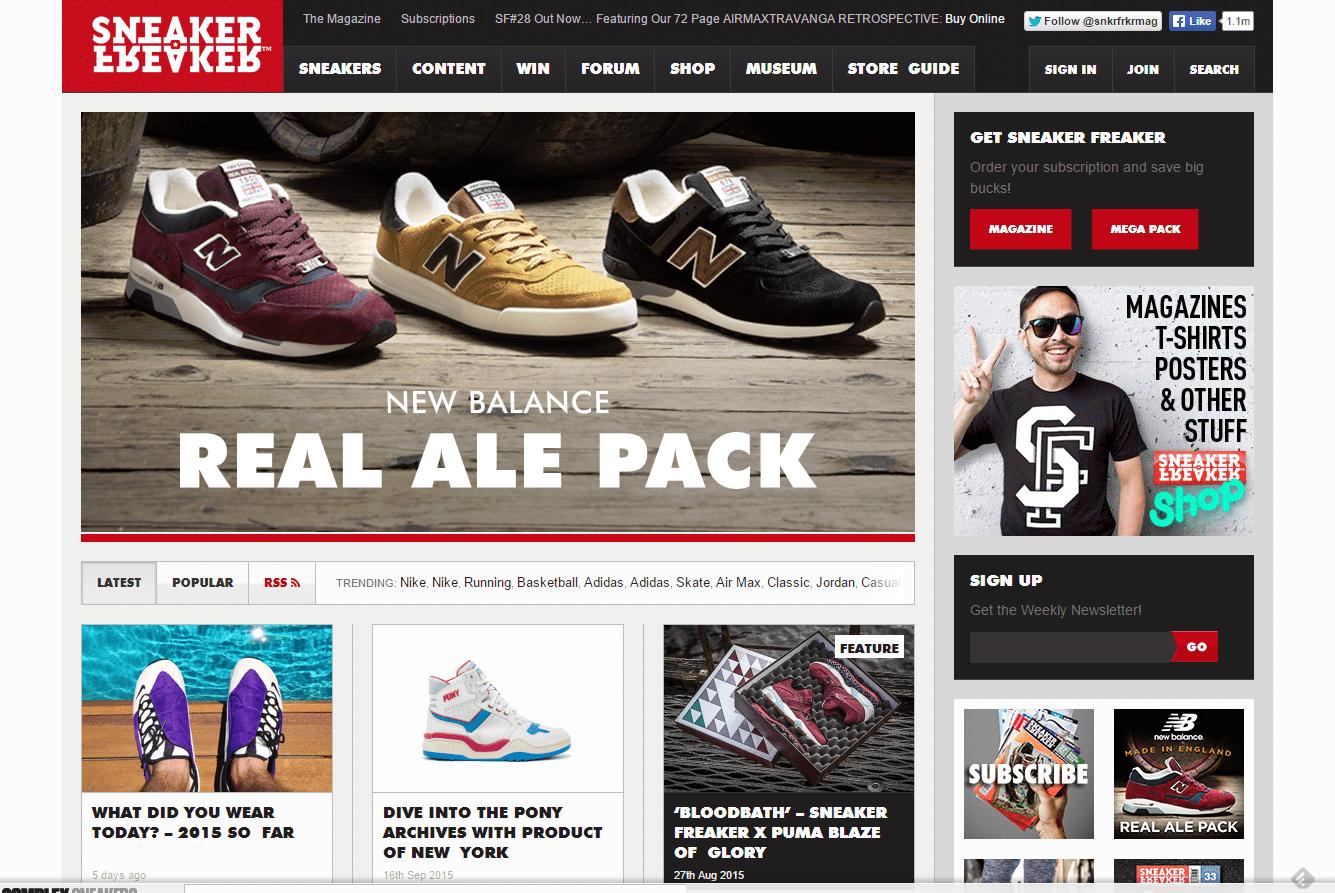 exclusive sneakers websites