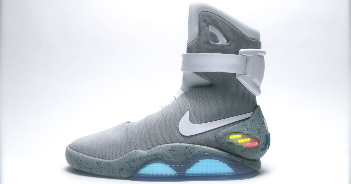 nike mag back future shoe design