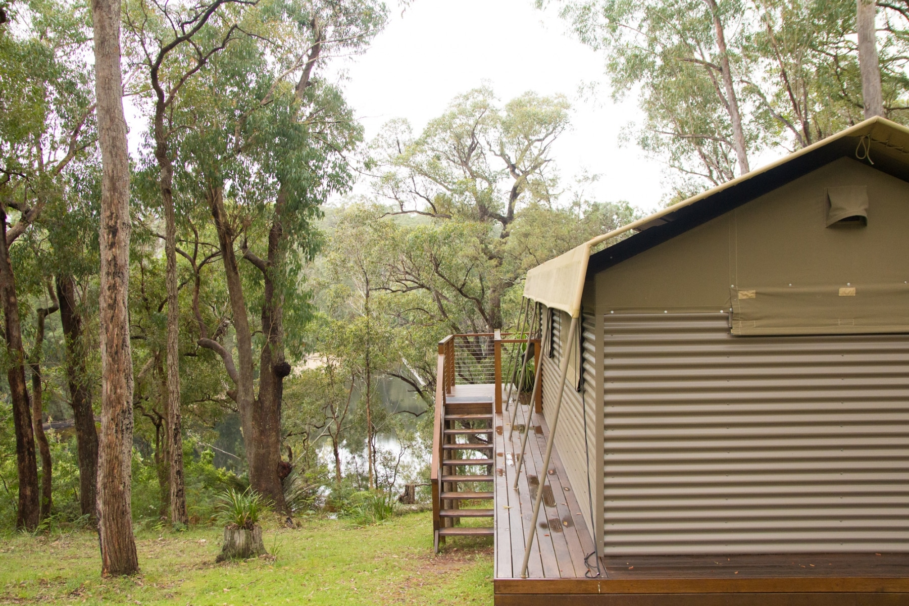 glamping luxury meets nature house