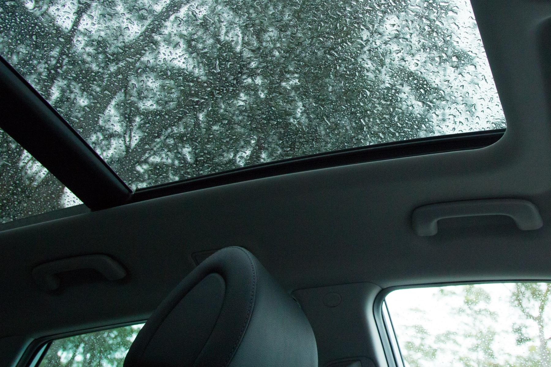 Interior roof of Hyundai