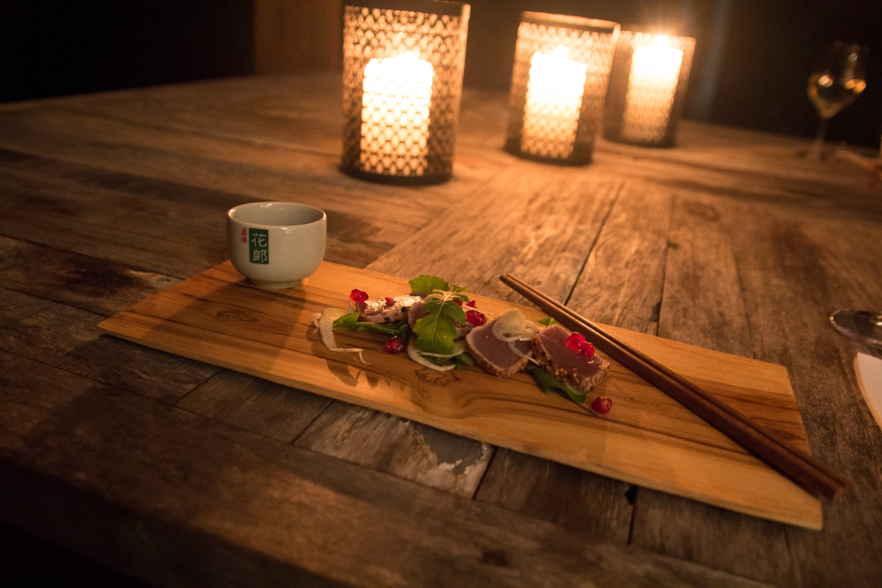 glamping luxury meets nature food