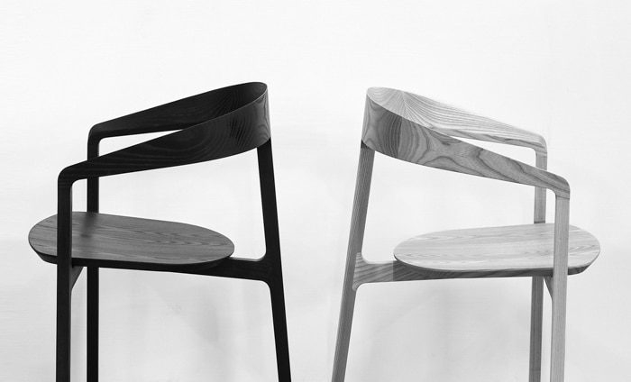 bow chair by tom fereday for design by them