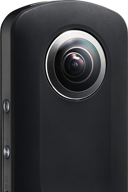 ricoh theta s front side