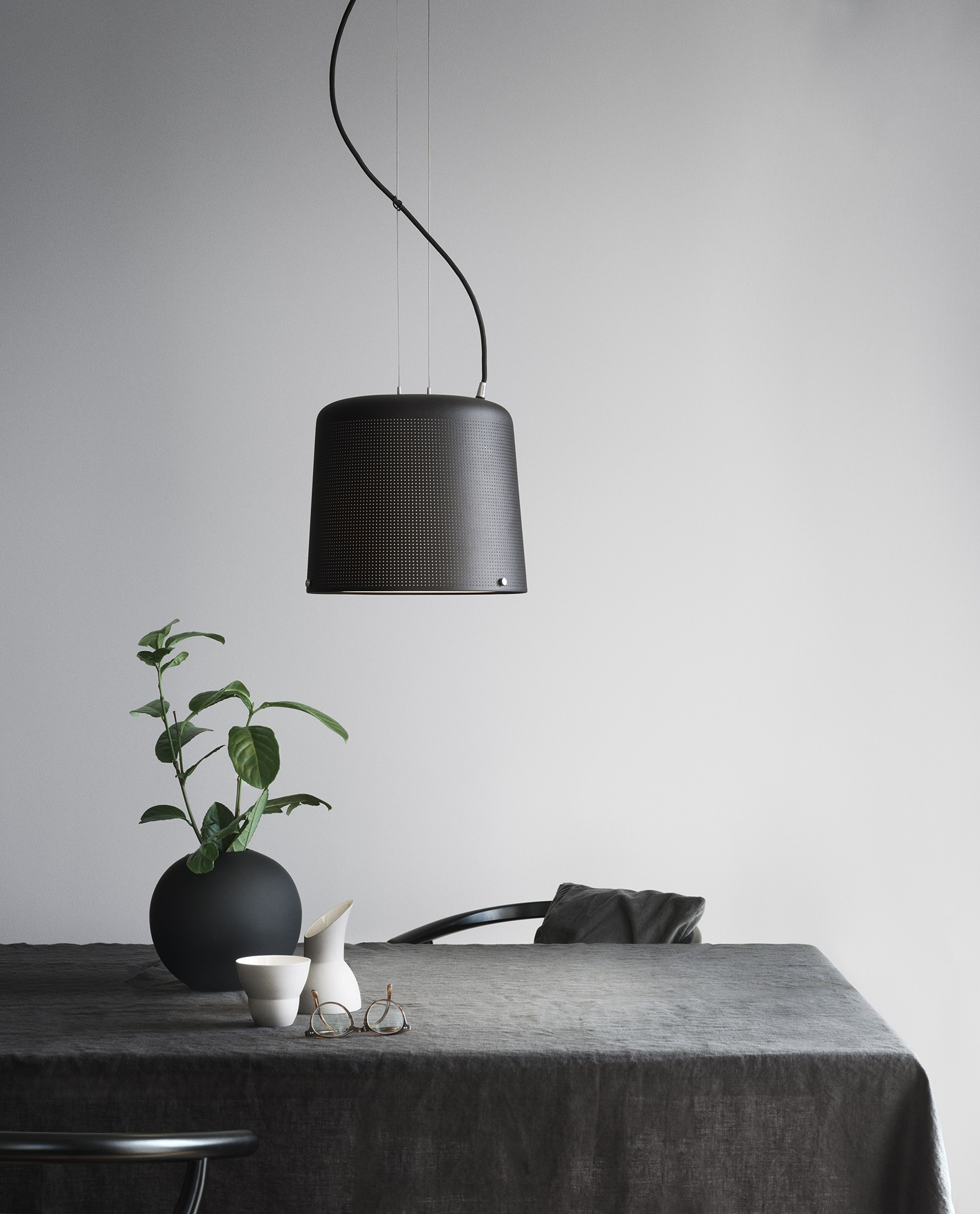 vipp jar lamp upwards