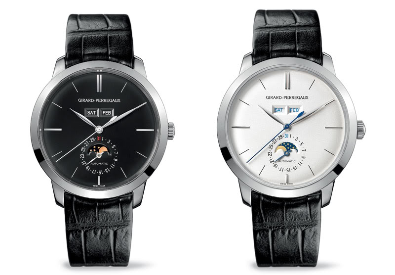 girard perregaux watch black and white