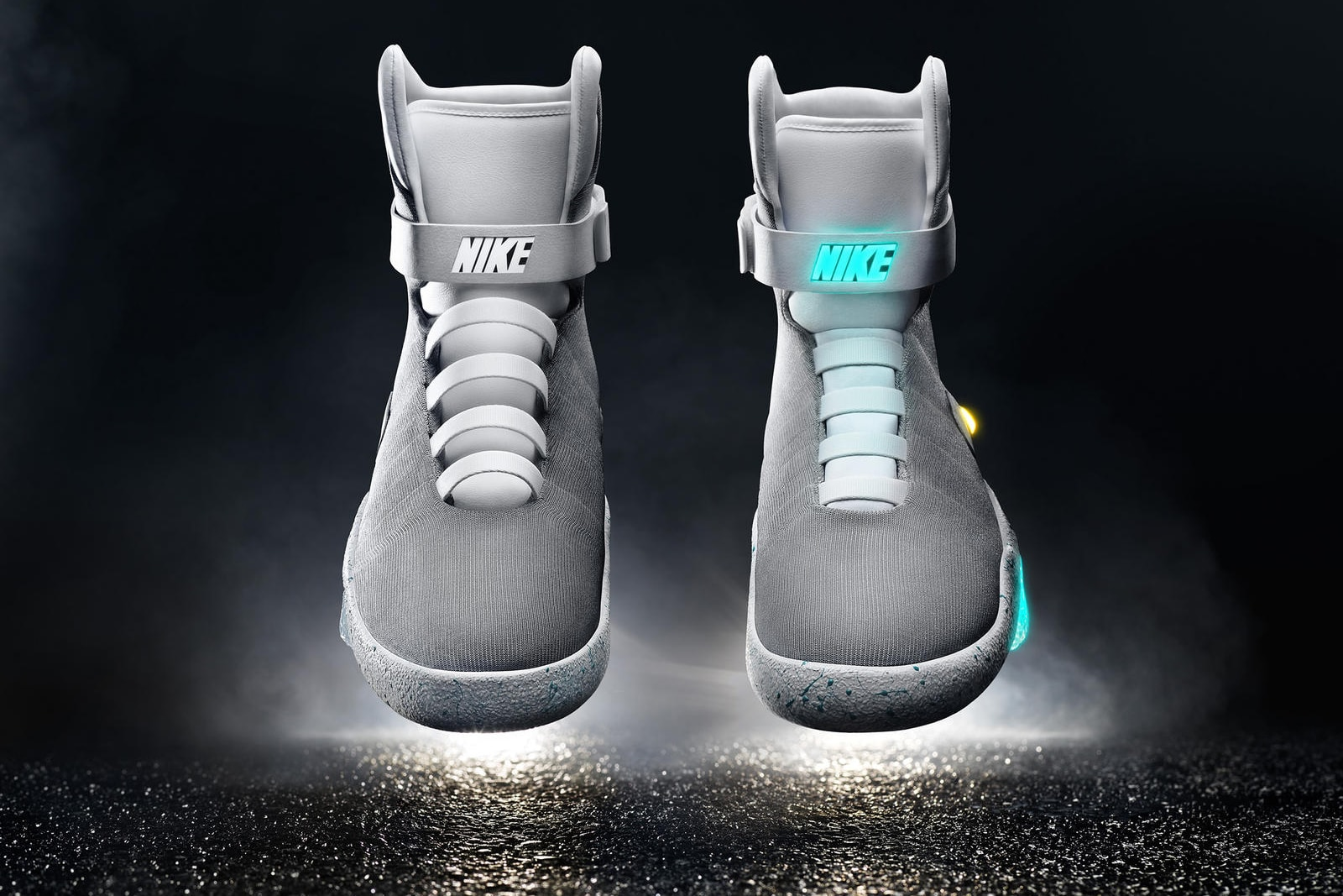nike mag back future shoe front