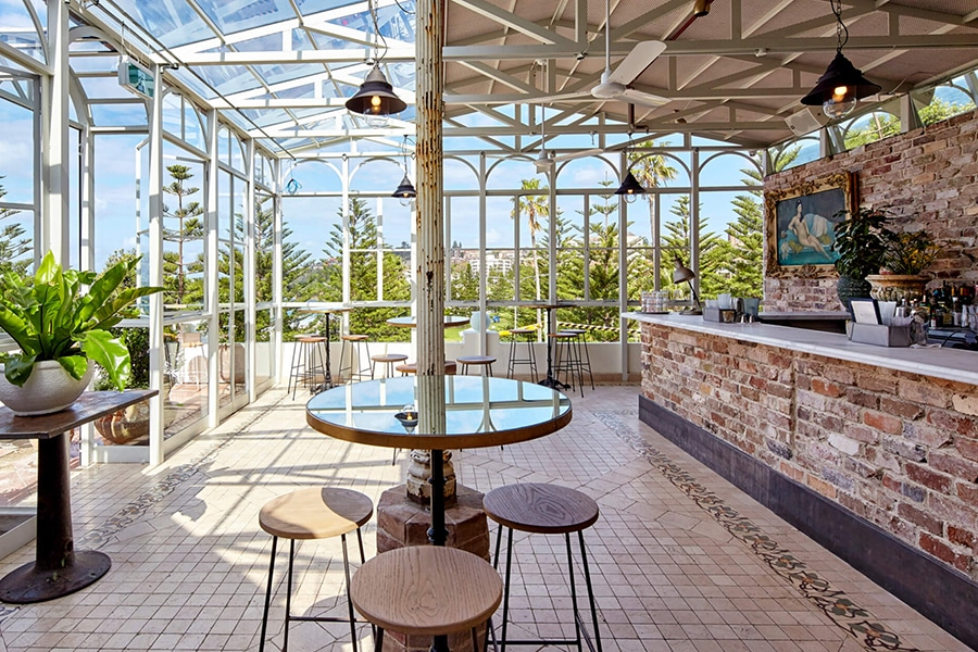 coogee pavilion bar inside