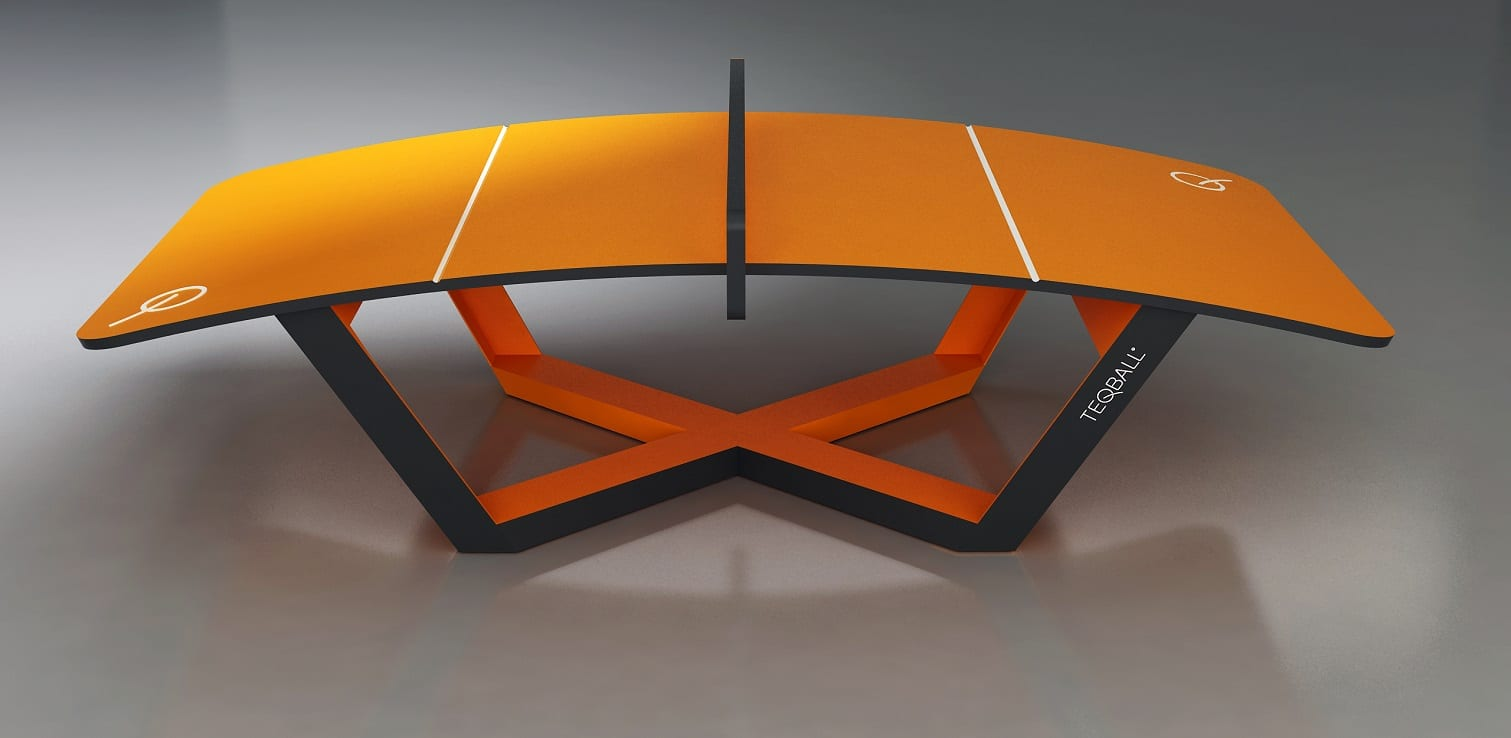 teqball curved table