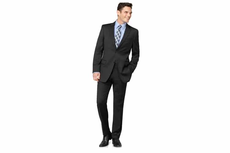 men wear american cut suit