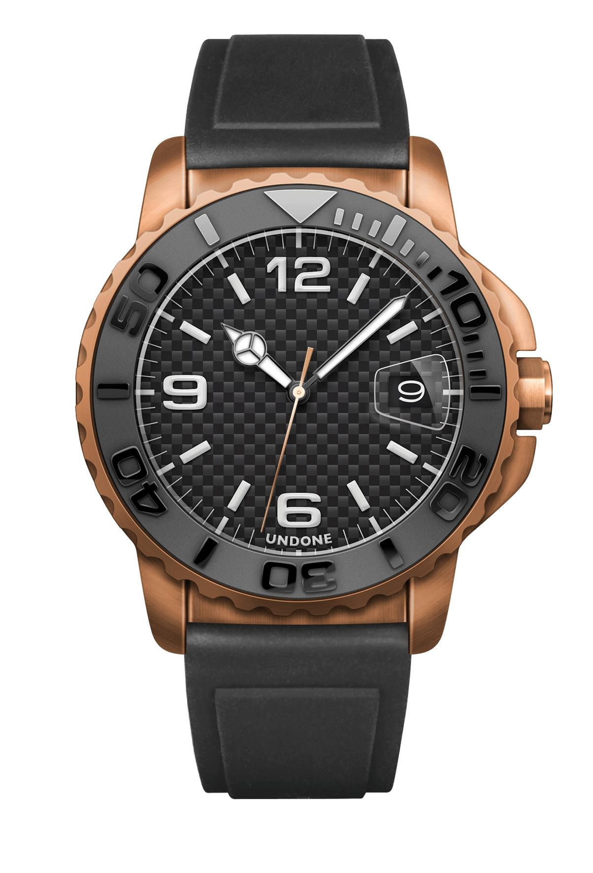 undone black brown color watch