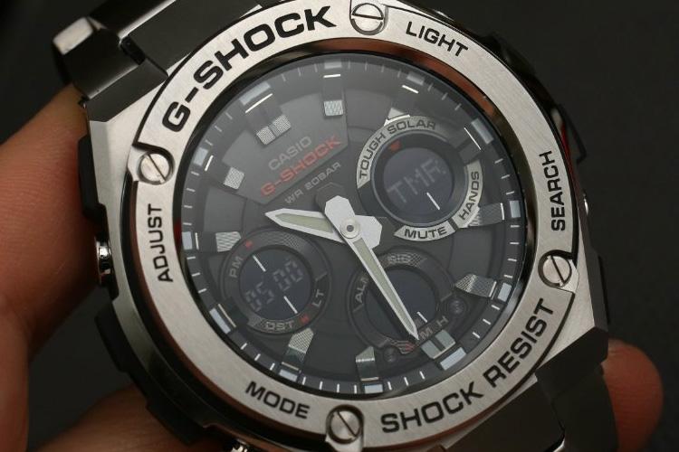 casio g shock g steel gsts110d 1a