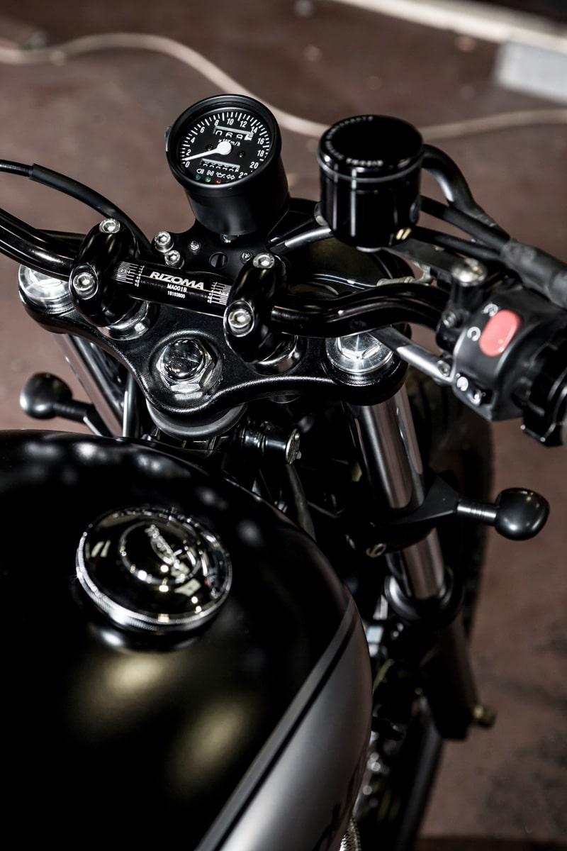 macco motors triumph bonneville se motorcycle handle