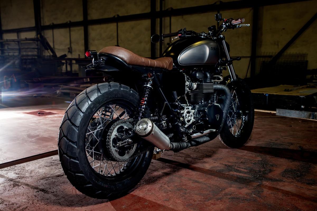 macco motors triumph bonneville se motorcycle wheel