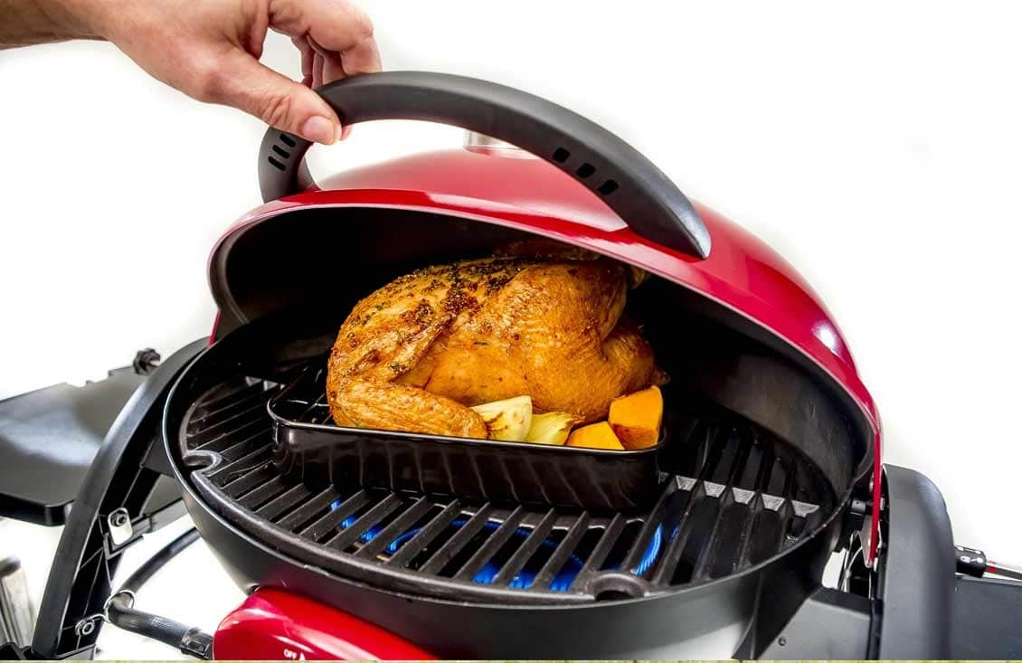 ziegler and brown portable grill chicken