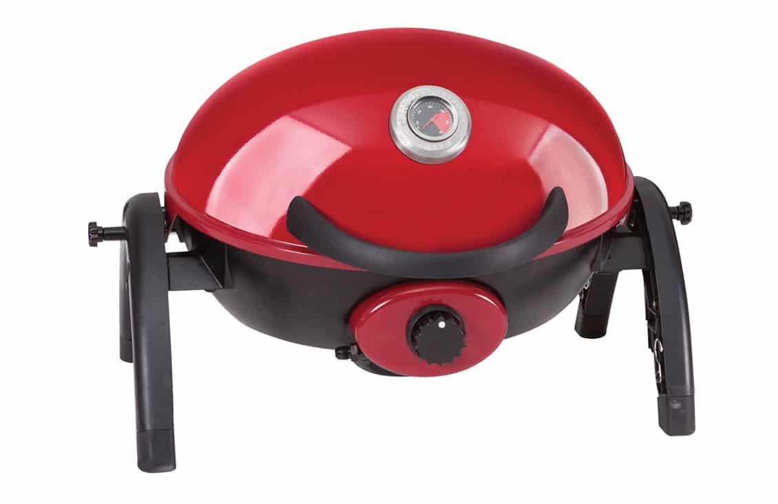 ziegler brown portable grill chilli red