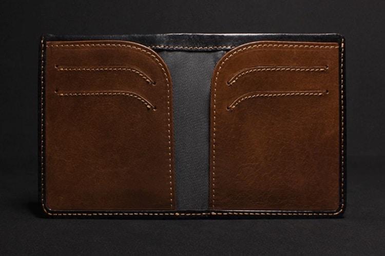swift rapid access leather wallet