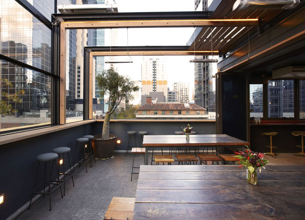 20 best rooftop bars in melbourne man of many for Balcony bar top