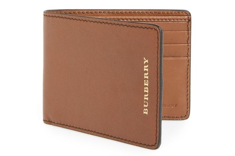 burberry calfskin wallet