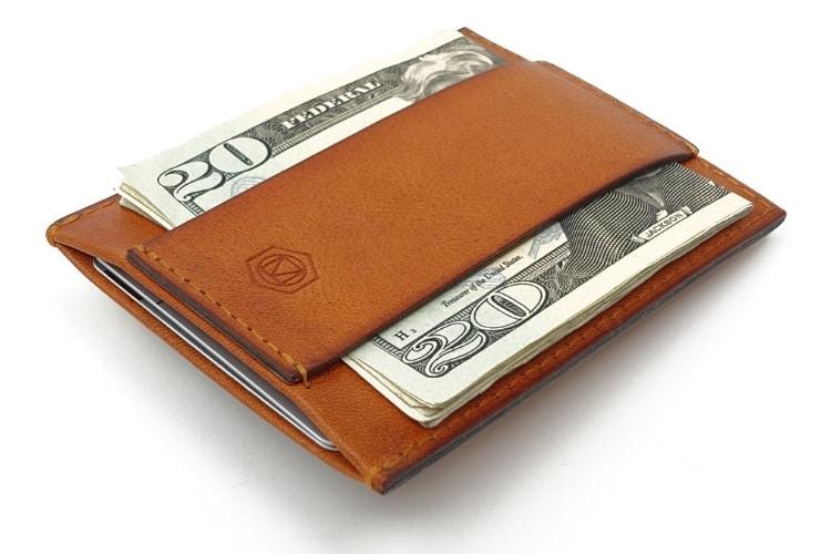 Capsule Tan Wallet