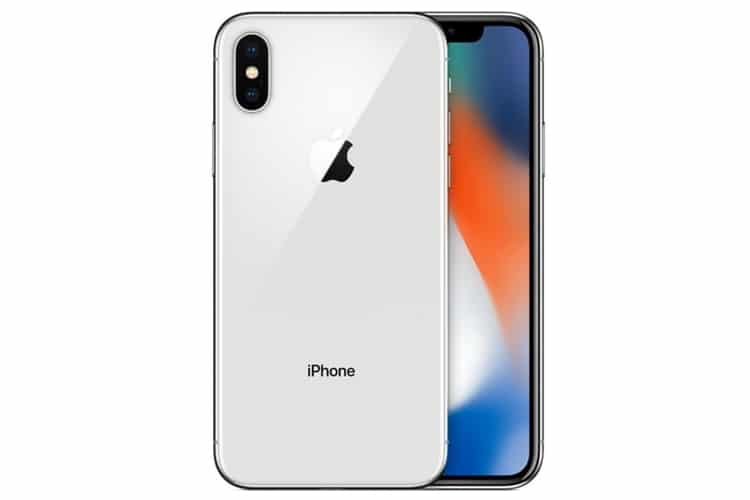 iphone x front and back side