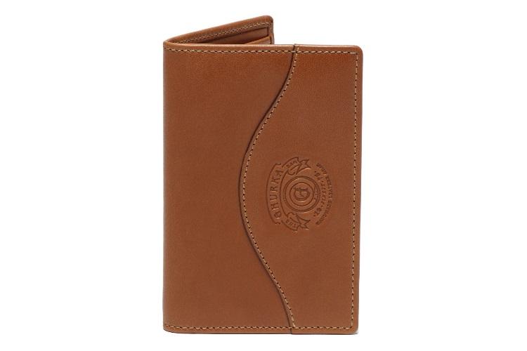 ghurka credit card window wallet